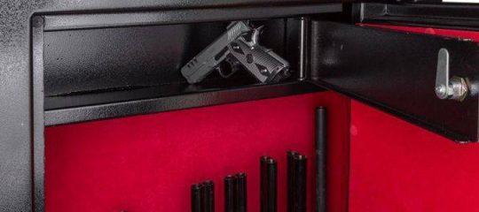 armoire forte pour fusils